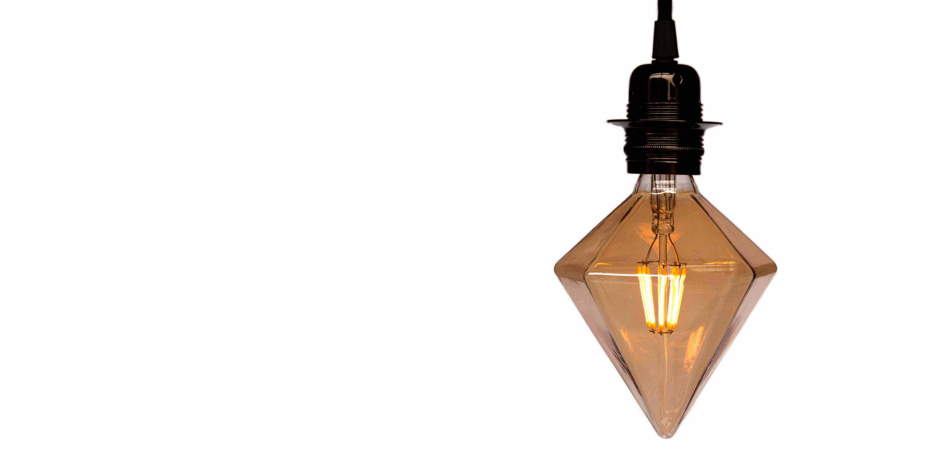 Teardrop st64 william and watson vintage edison bulb industrial light - Decorative Light Bulbs