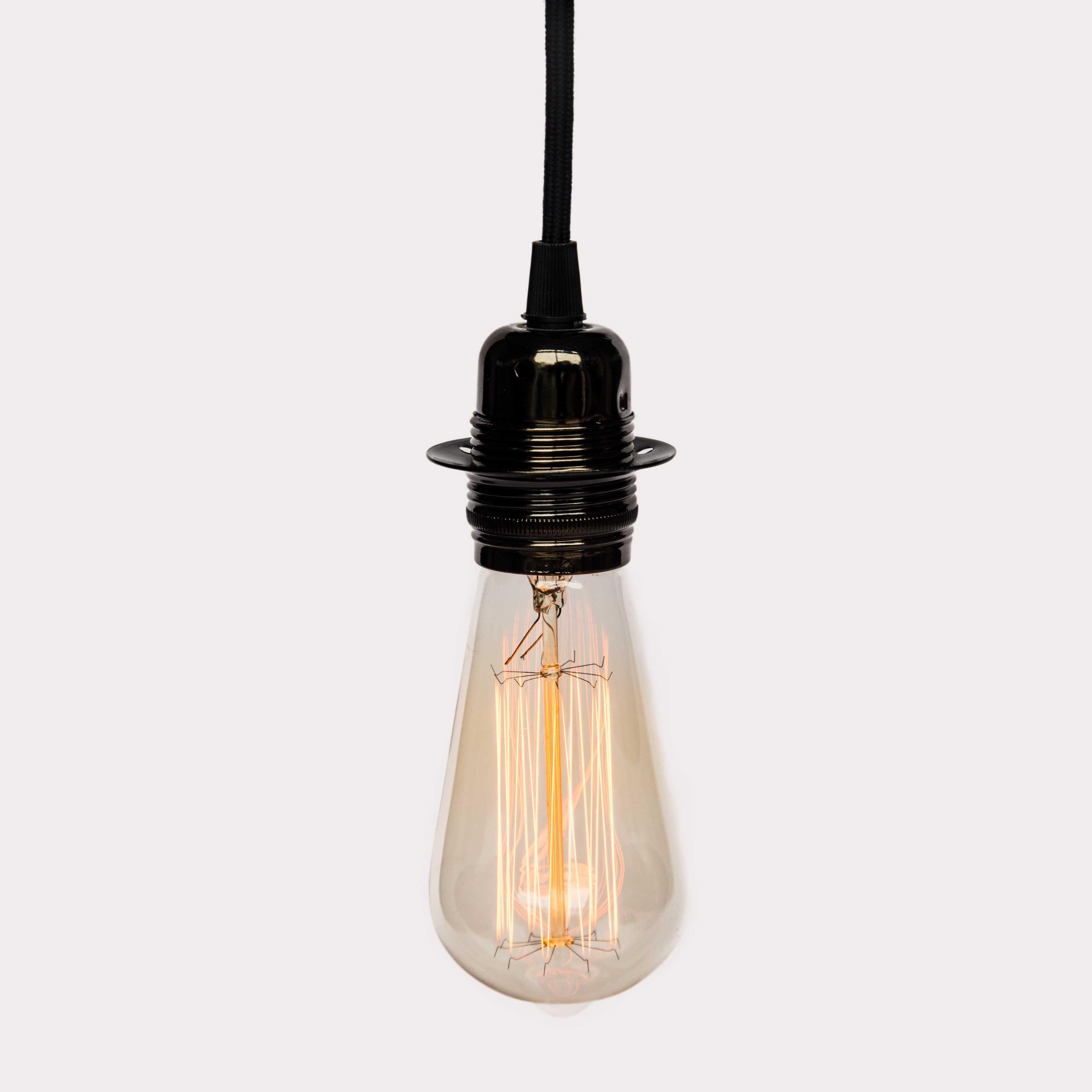Edison Teardrop Squirrel Cage Large Vintage Filament Light