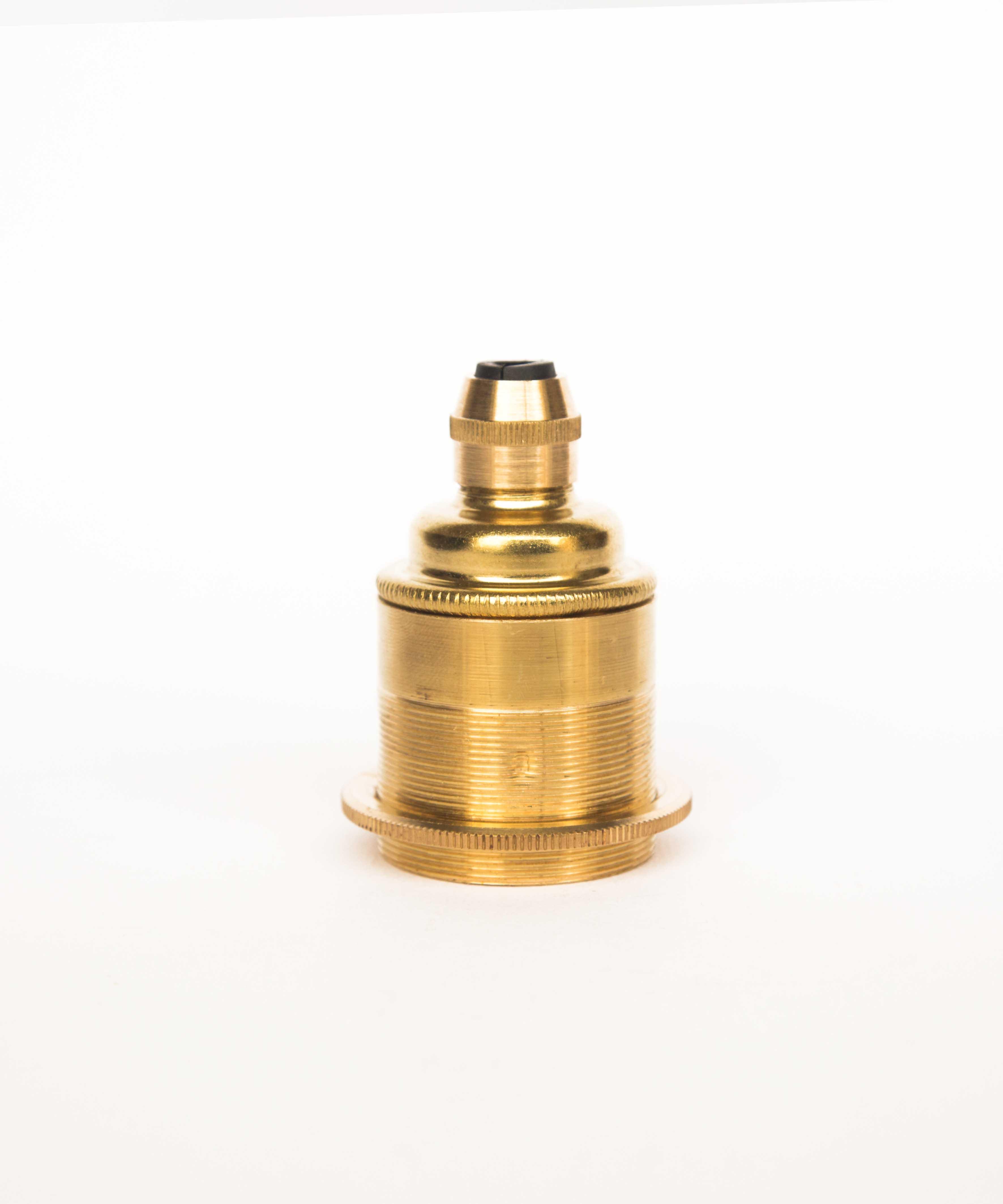 Industrial Gold Bulb Holder