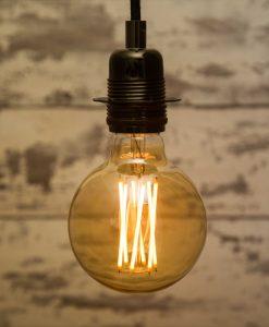 Large Globe Filament LED Light Bulb