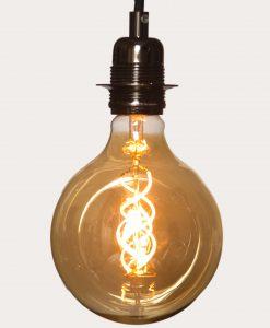 Double Spiral 7W Extra Large Flex LED Globe Bulb A+