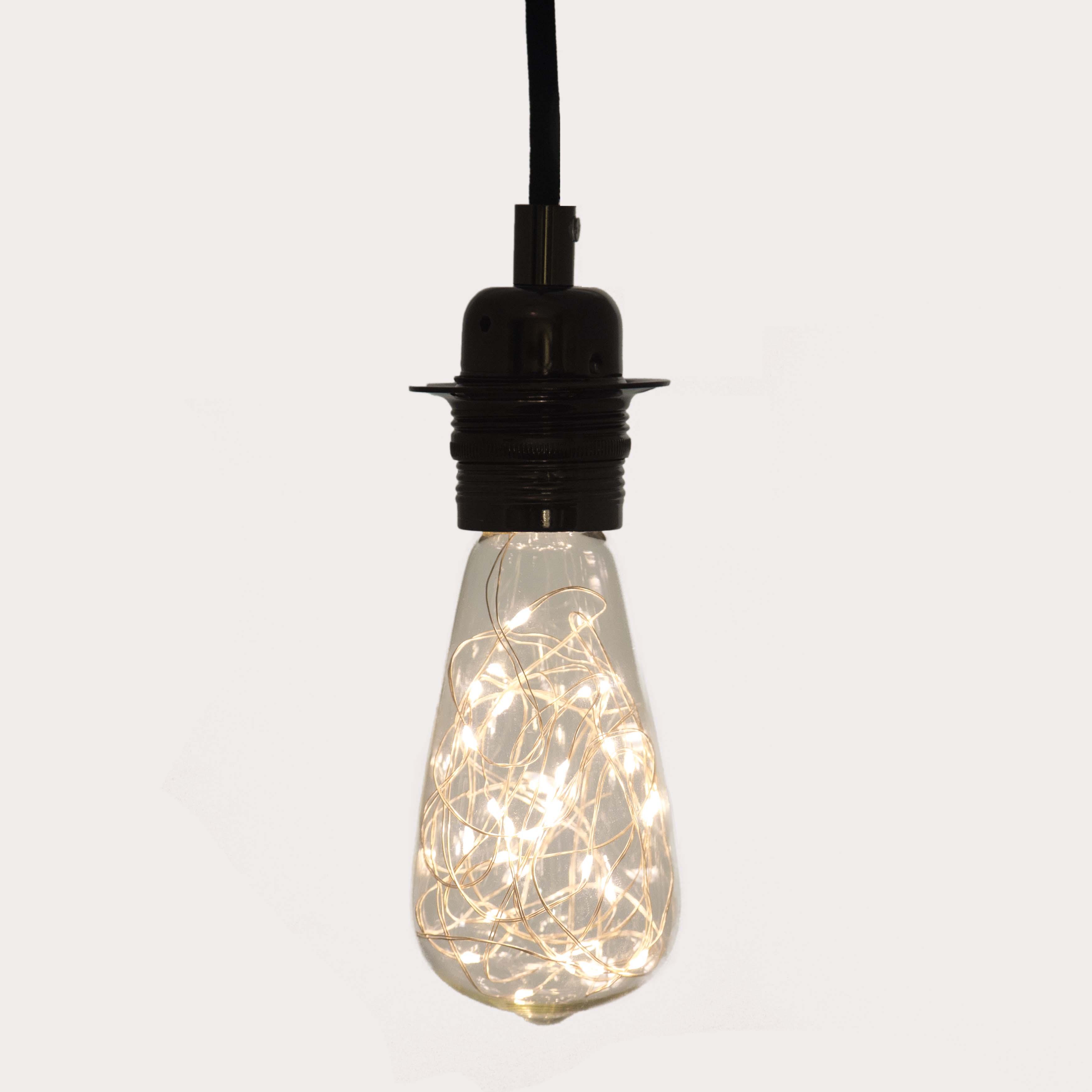 large teardrop filaments crossing led light bulb 6w e27 long life. Black Bedroom Furniture Sets. Home Design Ideas